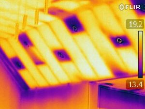 Thermal Image - case study - sloping ceiling